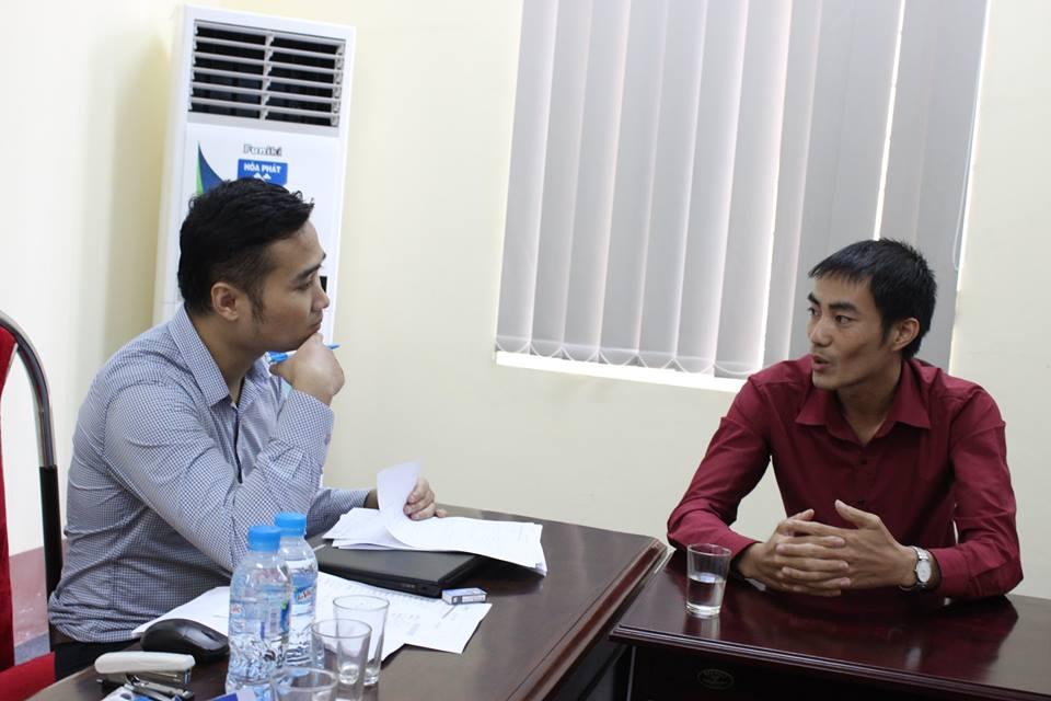 Một số hình ảnh tại buổi phỏng vấn của Tập đoàn VinGroup - Ảnh: TT GTVL Vĩnh Phúc