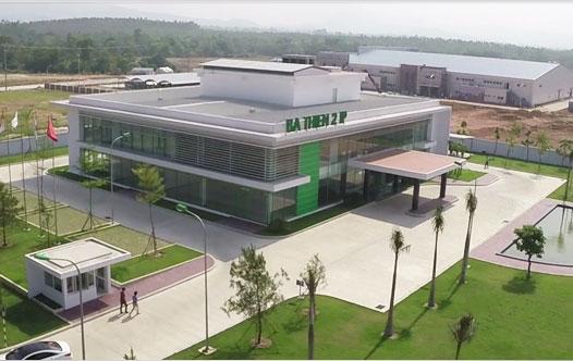 Trung tâm điều hành Khu Công nghiệp Bá Thiện 2 - Bình Xuyên - Vĩnh Phúc