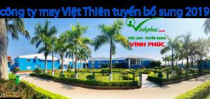 Cong Ty May Viet Thien Vinh Tuong Tuyen Dung