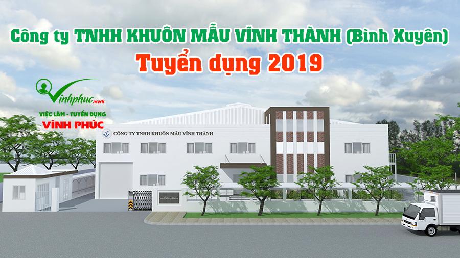 Cong Ty Khuon Mau Vinh Thanh Tuyen Dung