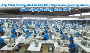 Thoi Trang Melia Tuyen Cong Nhan Vinh Yen Vinh Phuc