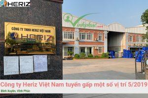 Cong Ty Heriz Viet Nam Tuyen Dung
