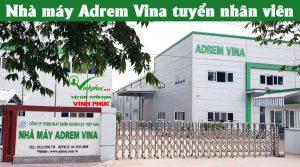 Adrem Vina Tuyen Nhan Vien 2019
