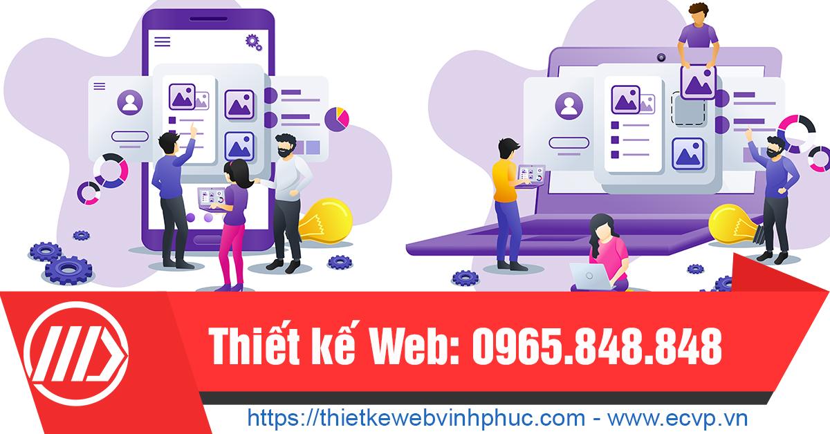 Thiet Ke Web Tai Vinh Phuc