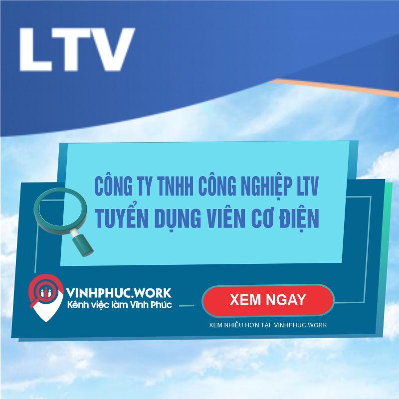 Cong Ty Tnhh Cong Nghiep Ltv Tuyen Nhan Vien Co Dien 4